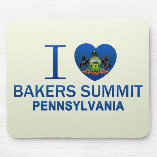 Amo la cumbre de los panaderos, PA Mousepads