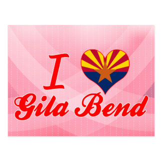 Amo la curva del Gila Arizona
