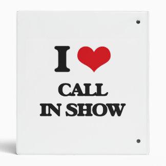 Amo la demostración del programa con llamadas en