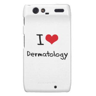 Amo la dermatología motorola droid RAZR fundas
