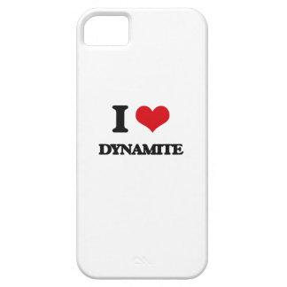 Amo la dinamita iPhone 5 fundas