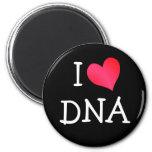 Amo la DNA Imán Redondo 5 Cm
