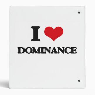 Amo la dominación