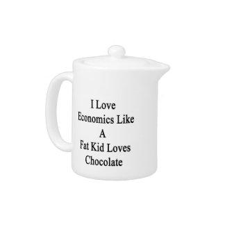 Amo la economía como un chocolate de los amores