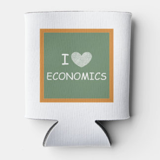 Amo la economía enfriador de latas