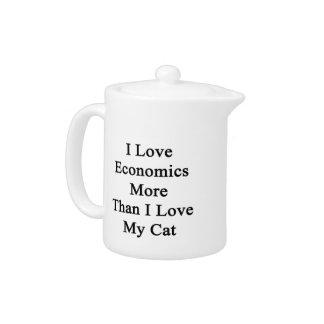 Amo la economía más que amor de I mi gato