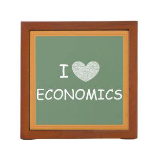 Amo la economía portalápices