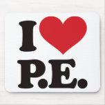 ¡Amo la educación física! Mousepad