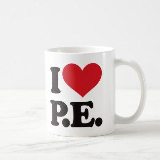 ¡Amo la educación física! Taza Clásica