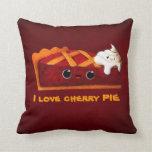 Amo la empanada de la cereza almohada