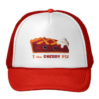 Amo la empanada de la cereza gorra