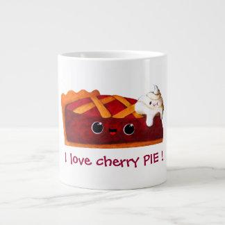 Amo la empanada de la cereza taza grande