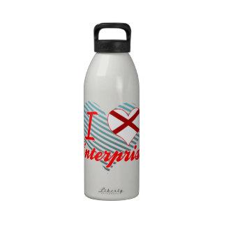 Amo la empresa, Alabama Botellas De Agua Reutilizables