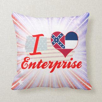 Amo la empresa Mississippi Cojin