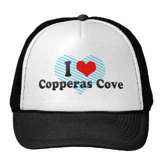 Amo la ensenada de Copperas, Estados Unidos Gorro