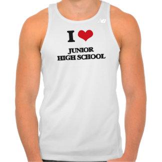 Amo la escuela de secundaria camisetas