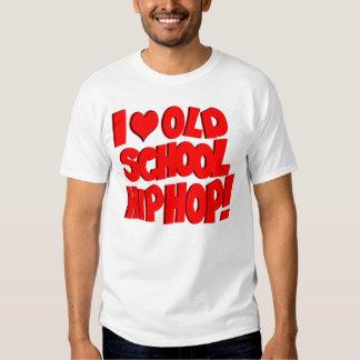 ¡Amo la escuela vieja Hip Hop! Remeras