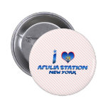 Amo la estación de Apulia, Nueva York Pins