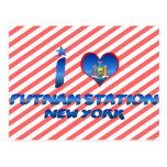 Amo la estación de Putnam, Nueva York Postales
