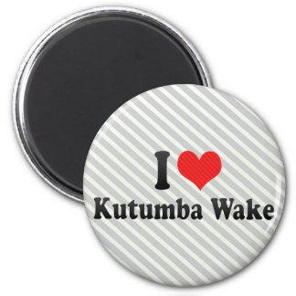 Amo la estela de Kutumba Imán Para Frigorífico