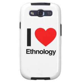 amo la etnología galaxy SIII fundas