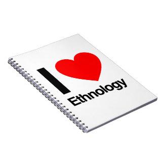 amo la etnología cuaderno