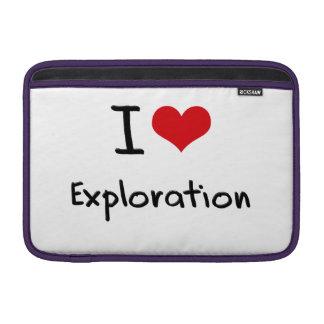 Amo la exploración funda macbook air