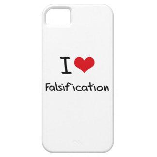 Amo la falsificación iPhone 5 carcasas