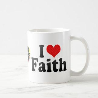 Amo la fe taza