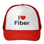 Amo la fibra (del corazón) gorro de camionero