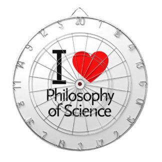 Amo la filosofía de la ciencia tabla dardos