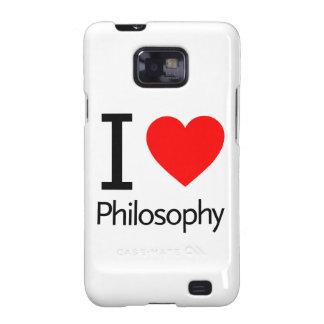 Amo la filosofía samsung galaxy SII funda
