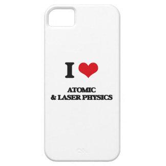Amo la física atómica y del laser iPhone 5 carcasas