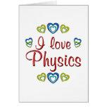 Amo la física felicitacion
