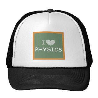 Amo la física gorras