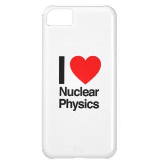 amo la física nuclear funda para iPhone 5C