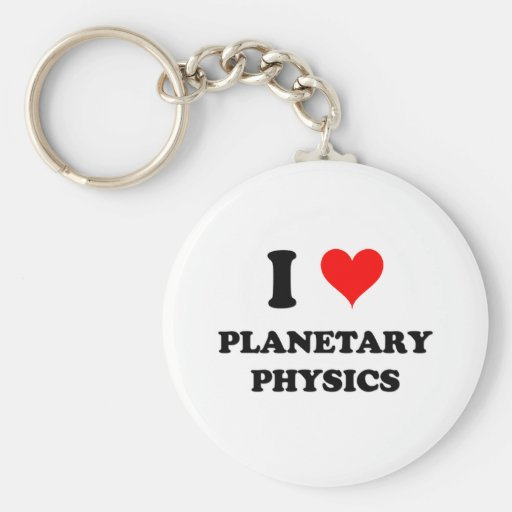 Amo la física planetaria llavero redondo tipo pin