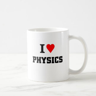 Amo la física taza clásica