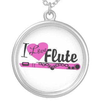 Amo la flauta colgante redondo