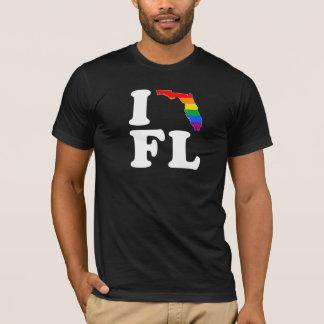 AMO LA FLORIDA GAY -- BLANCO - .png Playera