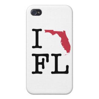 Amo la Florida iPhone 4 Carcasas