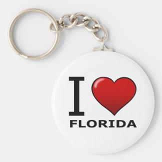 AMO LA FLORIDA LLAVERO