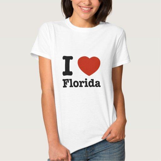 Amo la Florida Playeras