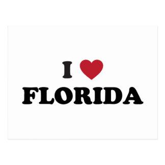 Amo la Florida Postales