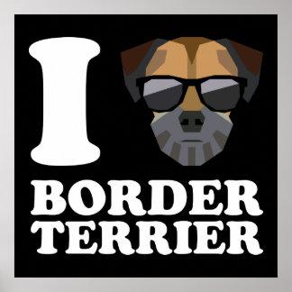 Amo la frontera Terrier -2- Póster