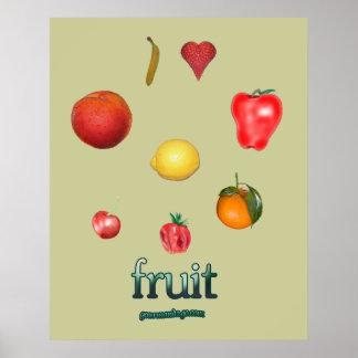 ¡Amo la fruta! Póster