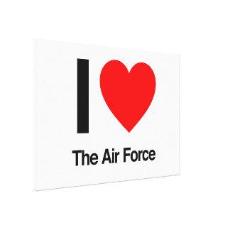amo la fuerza aérea lona estirada galerias