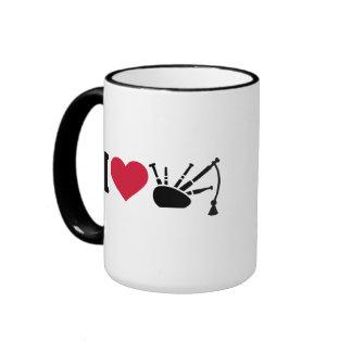 Amo la gaita tazas de café