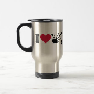 Amo la gaita taza de café