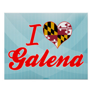 Amo la galena, Maryland Posters